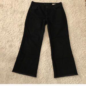 Zara Flare Cropped Jeans